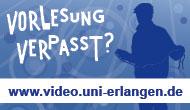 Videoportal - RRZE - vorlesung verpasst