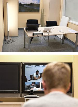 Videokonferenzraum klein Martensstraße 1