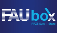Logo der FAUbox