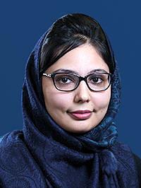 Personenbild Frau Afzal Asyesha