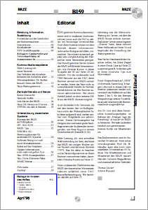 Abbildung der Titelseite Benutzerinformation 59
