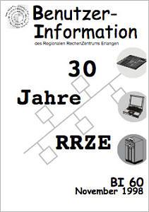 Abbildung der Titelseite Benutzerinformation 60