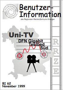 Abbildung der Titelseite Benutzerinformation 62