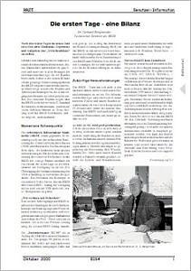 Abbildung der Titelseite Benutzerinformation 64