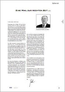 Abbildung der Titelseite Benutzerinformation 65