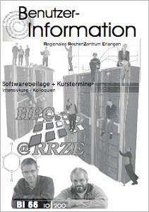 Abbildung der Titelseite Benutzerinformation 66