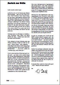 Abbildung der Titelseite Benutzerinformation 68