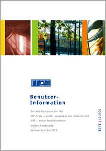 Abbildung der Titelseite Benutzerinformation 76