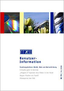 Abbildung der Titelseite Benutzerinformation 79