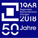 Logo 50 Jahre RRZE