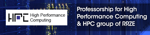 Professorship for High Performance Computing & HPC group of RRZE