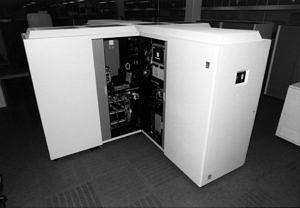 Foto des IBM-3090 Großrechner