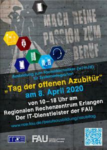 Deckblatt Postkarte Azubitag 2020