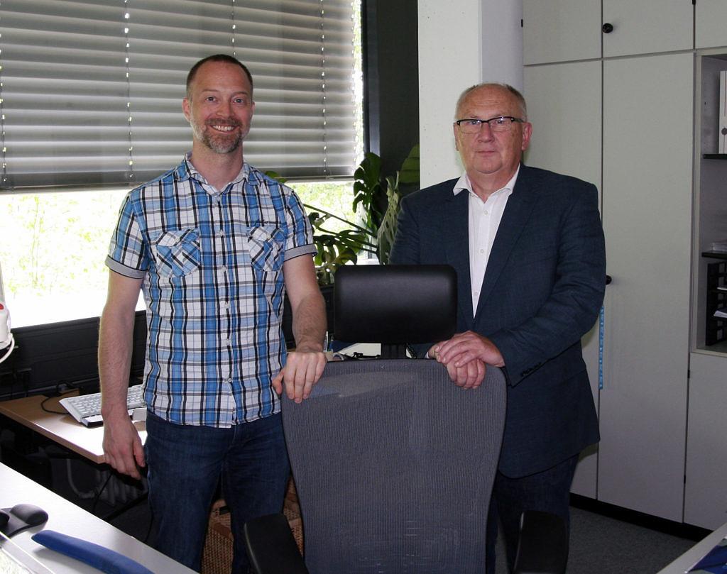 Übergabe des Chefsessels: Dipl.-Inf. Marcel Ritter übernimmt bis auf Weiteres die RRZE-Leitung